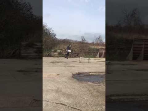 Gravity - flight training - a landing!