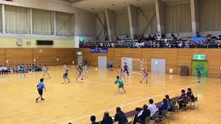 ハンドボール最高!20180617 札幌月寒 vs 函館有斗 高体連 全道大会 決勝