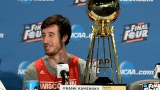 Wisconsin's Kaminsky Wins AP Player Of The Year