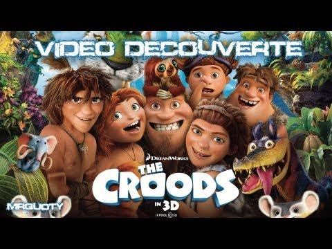 Wii U : Vidéo Découverte Les Croods Fête Préhistorique poster