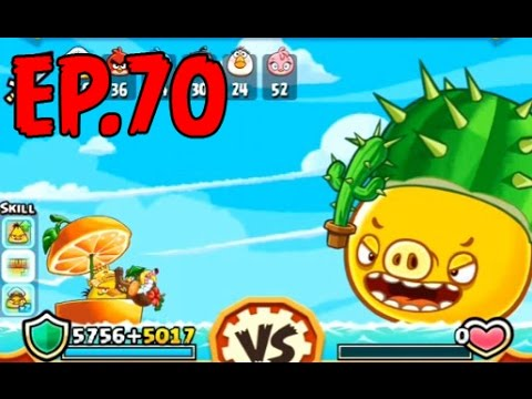 Angry Birds Fight! - SUPER CACTUS PIG - PIG CACTUS (SS for BOMB) - EP70