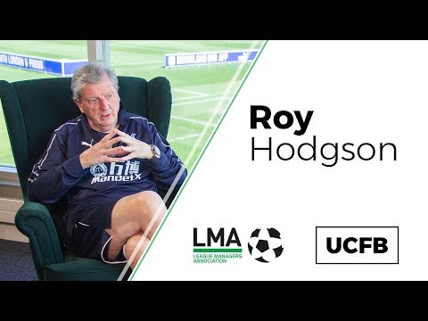 Roy Hodgson: 'I'm Not Working Here To Produce Players For Palace To Sell!' | UCFB-LMA Insight Series