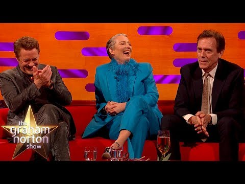 Hugh Laurie's Hilarious Story of Working With A Lion  | The Graham Norton Show