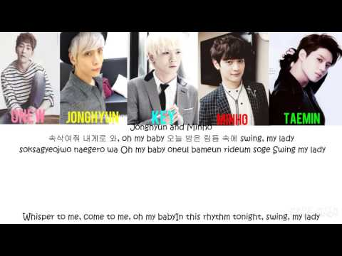 SHINee(샤이니) - ELECTRIC HEART Han|Rom|Eng| Color Coded Lyrics
