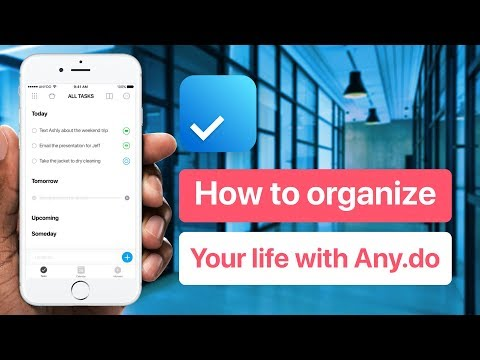 Organize Your Life with Any.do