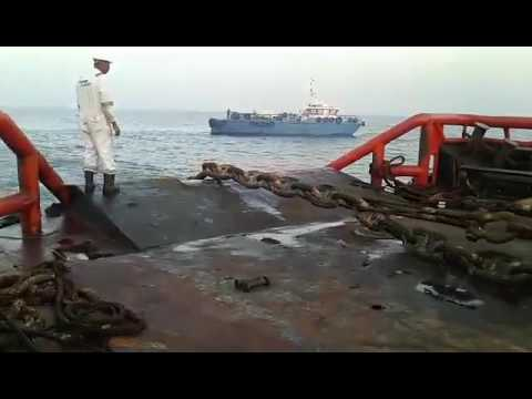 By :Allan C. Uberita AHTS  MV Diva  UAE  Recovered loss anchor of tanker vessel