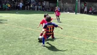 第381回 パルカップ Jr. U-7 決勝戦 TINO vs パトリアFC 20170503