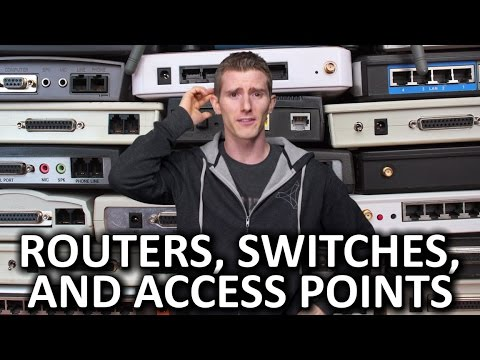 Routers vs. Switches vs. Access Points - And More