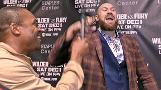 TYSON FURY: Deontay Wilder WILL QUIT! Mentally WEAK!!