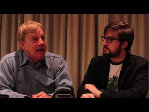 Frazer Hines Interview from I-CON - Geek Crash Course
