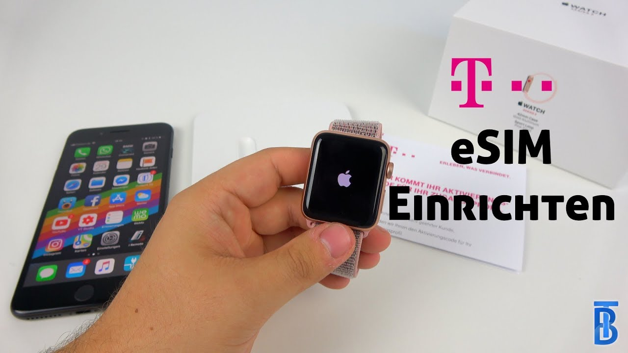Telekom Karte Aktivieren.Apple Watch Series 3 4 Lte Einrichten Und Esim Aktivieren Anleitung Deutsch Touchbenny