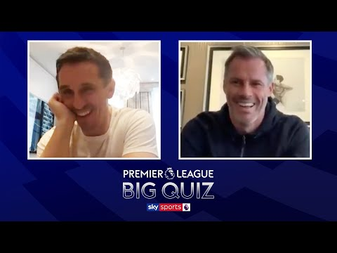 Gary Neville vs Jamie Carragher in the ULTIMATE Premier League quiz with Martin Tyler!