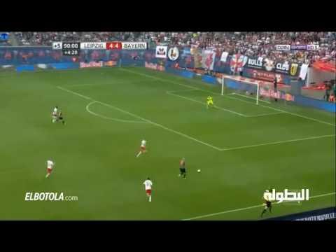 Goal robben vs Leipzig