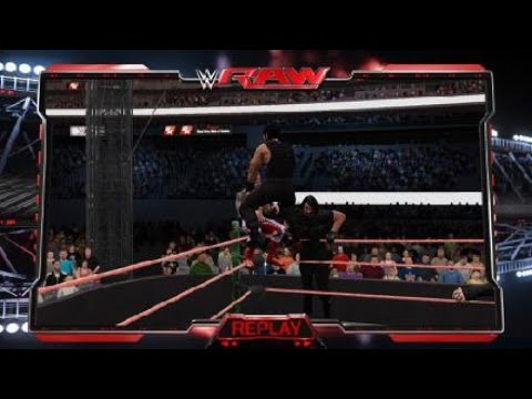 WWE 2K17 The SHIELD Hounds of justice