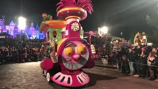 New Years Eve Parade 2018 Disneyland Paris