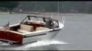 Vintage All Mahogany 26' Skiffcraft Motor Boat