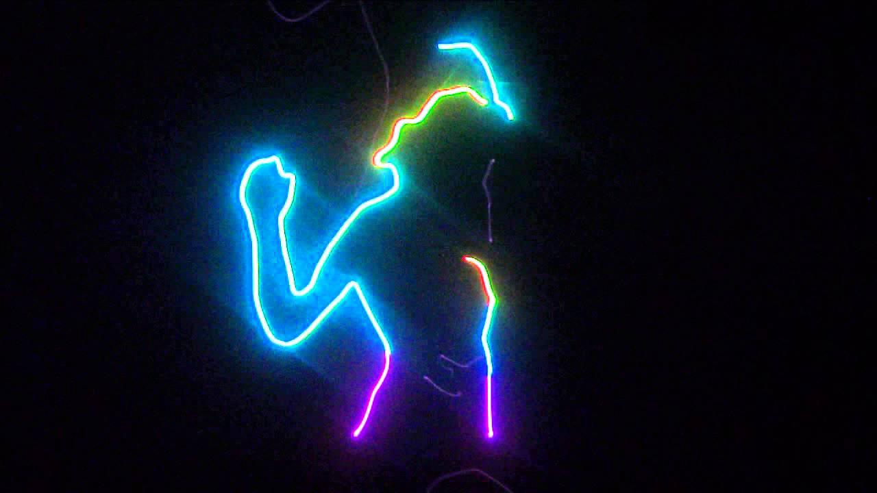 Reke 350 Full Colour Animation Disco Laser Light MODE 1 - YouTube for Animated Disco Lights Background  35fsj