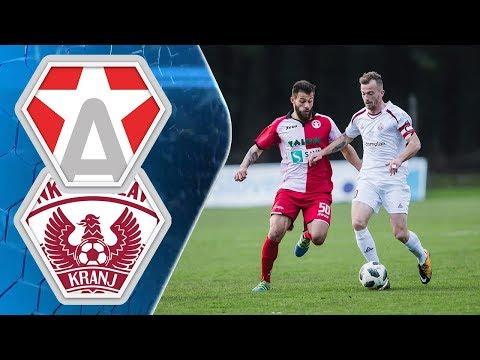25. krog: Aluminij - Triglav 3:1 ; Prva liga Telekom Slovenije 2017/2018