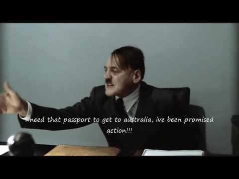 Hitler is informed: Your passport has been stolen