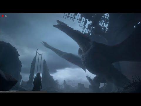 Дрогон уничтожает ТРОН СЕМИ КОРОЛЕВСТВ (игра престолов 8 сезон 6 серия)