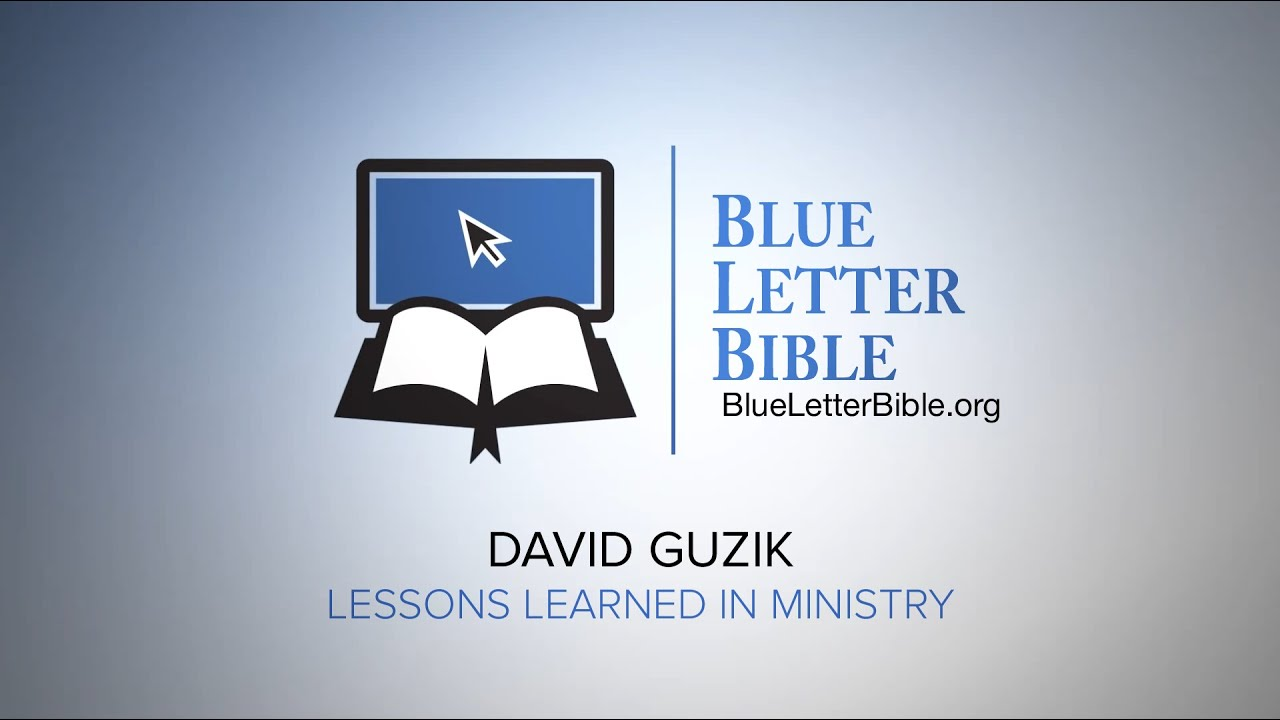 David guzik on lessons learned in ministry youtube david guzik on lessons learned in ministry blue letter bible malvernweather Gallery