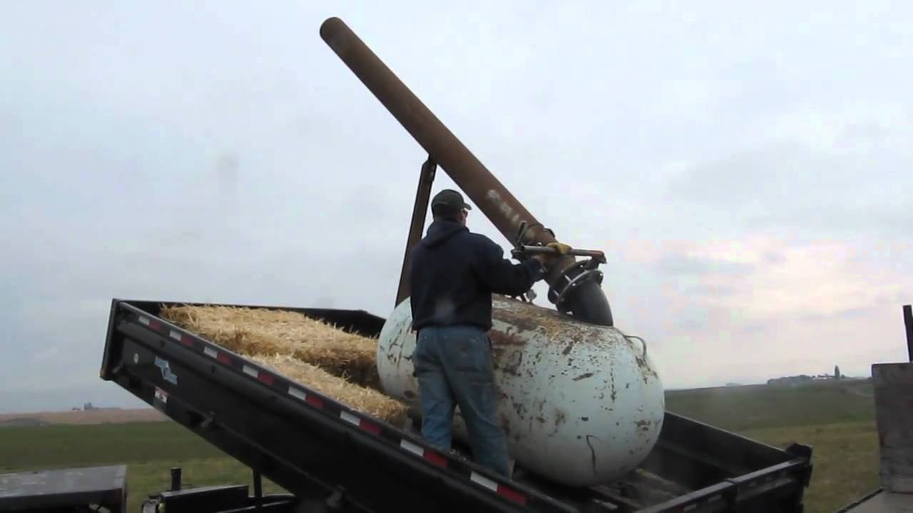 Air Powered Pumpkin Cannon Launcher Youtube