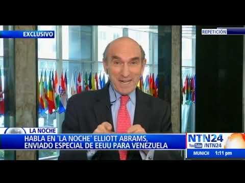 Habla en 'La Noche' Elliott Abrams, enviado especial de EEUU para Venezuela