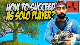 How to Succeed SOLO on FRESH WIPE Day! - Rust Solo Survival Gameplay