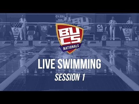 BUCS Nationals 2019 | Swimming Session 1