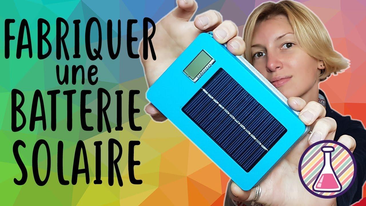 Top Fabriquer une batterie externe solaire - YouTube NY41