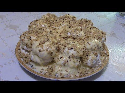 Рецепт: Торт из печенья на