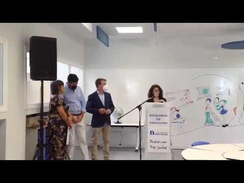 CEIP Tres Cantos y el Aula del Futuro un proyecto educativo de UE