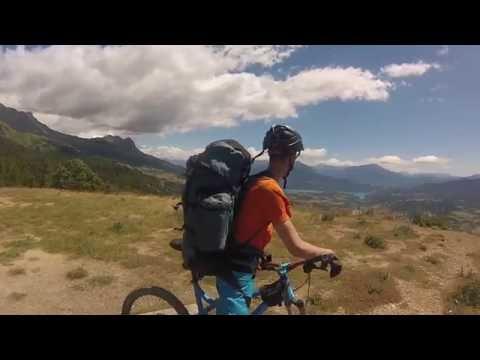 Randonnée a vtt gtha (Grande Traversée des Hautes Alpes)