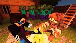 ОПАСНОЕ ЗАДАНИЕ! ДЕНЬ 9. ЗОМБИ АПОКАЛИПСИС В МАЙНКРАФТ! - (Minecraft - Сериал)