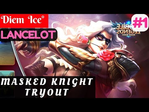 Masked Knight Tryout [Season 4 Top Global] | Diem  Ice° Lancelot Gameplay and Build #4
