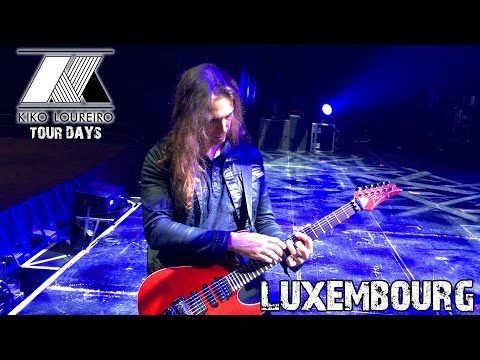 Birthday in Luxembourg with Megadeth
