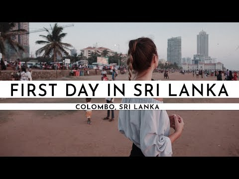FIRST DAY IN SRI LANKA · GALLE FACE GREEN & GETTING TO COLOMBO FROM THE AIRPORT | TRAVEL VLOG #49