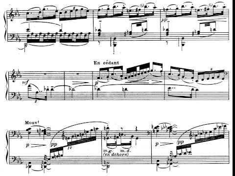 Debussy. Preludios. Libro I. Preludio nº 11 La danse de Puck