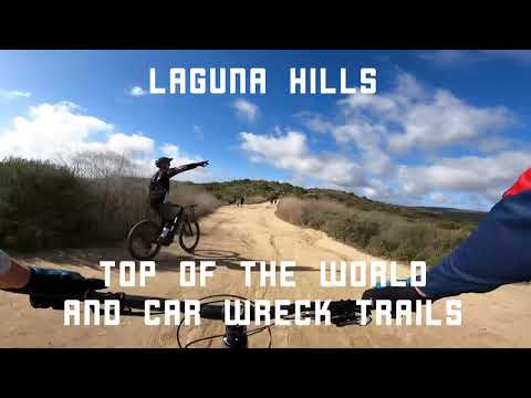 First mountain biking trip to Laguna Hills Top of the World and Car Wreck