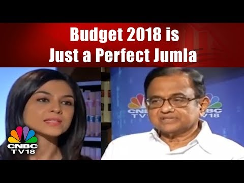 P. Chidambaram's Latest Exclusive Interview On BUDGET 2018 |