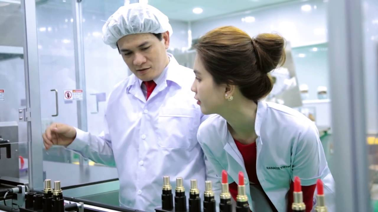 cosmetic manufacturing company