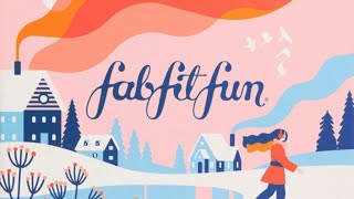 Fabfitfun Winter 2019 plus add ons/ extra choices $15 off code on description