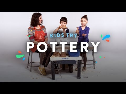 Kids Try Making Pottery with a Potter | Kids Meet | HiHo Kids