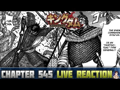 "Kingdom キングダム Chapter 545 Manga LIVE REACTION - THE ""INSTINCTUAL"" FACE OFF!!"