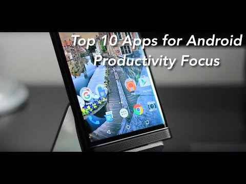 Top 10 Android APPS | Productivity 2016