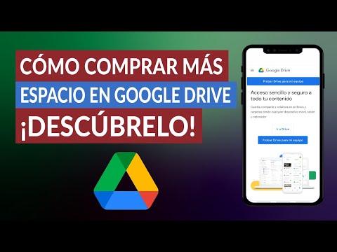 Cómo Comprar más Espacio en Google Drive para Aumentar el Almacenamiento