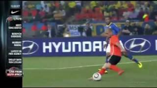 Jack van Gelder: Nederland - Brazilië (WK 2010)