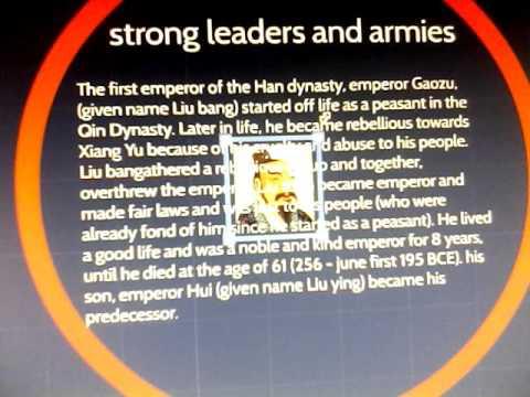 R.I.P Liu bang (first emp of the han empire)