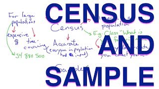 Relating Census and Sample