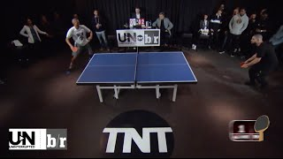 Drake vs. Reggie Miller: Legends of Ping Pong in The 6